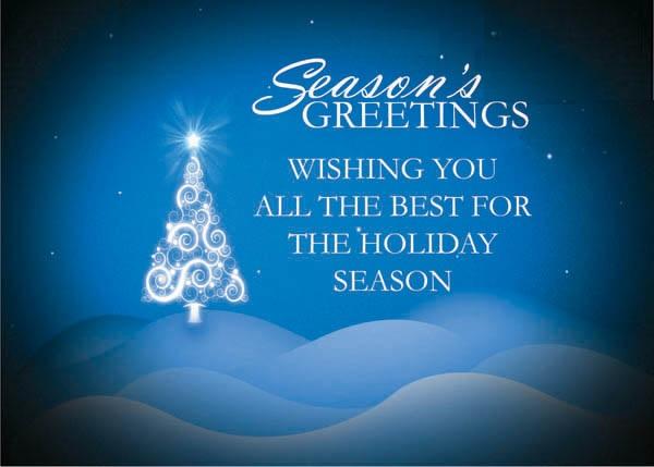 season greetings words